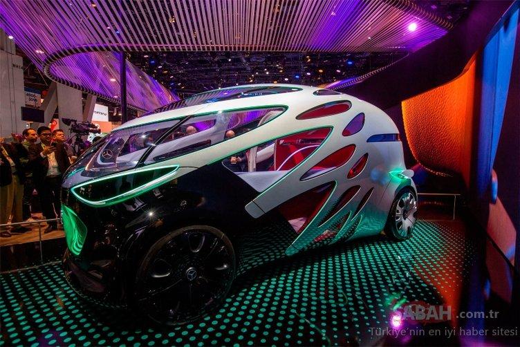 Mercedes-Benz Vision URBANETIC CES 2019'da boy gösterdi! Vision URBANETIC'in özellikleri...