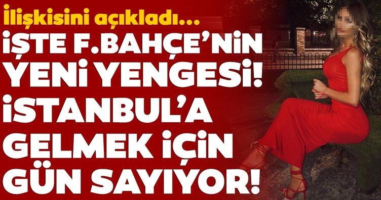 Fenerbahçe'nin yeni yengesi Chloe Sims, Adil Rami ile nasıl tanıştıklarını anlattı