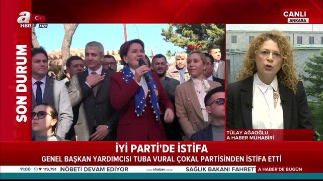 Son dakika! İYİ Parti'de istifalar art arda   Video