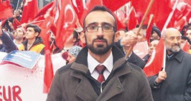PKK'lılar Türk gence saldırdı