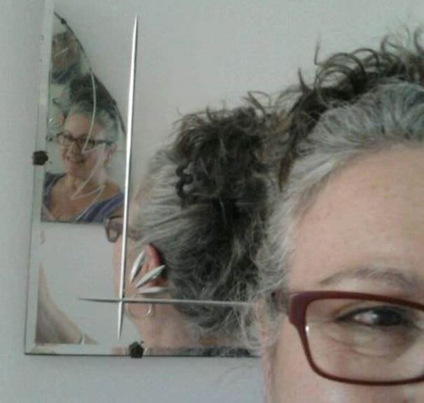 Genç kızlar nenelerinin saçlarına özendi