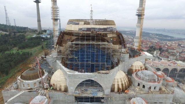 İşte Çamlıca Camii'nin son hali