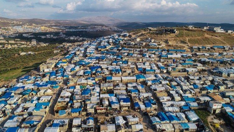 Mega çadır kentte yaşam mücadelesi