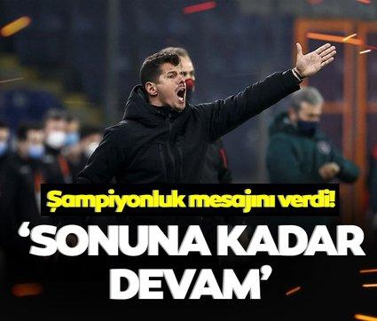 Son dakika: Emre Belözoğlu şampiyonluk mesajını verdi! Sonuna kadar...