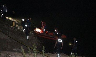 Manisa'da gölete giren kişi kayboldu