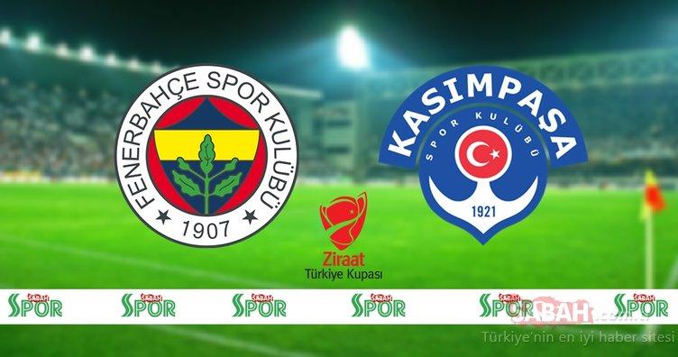 Fenerbahçe Kasımpaşa maçı hangi kanalda yayınlanacak ve bu akşam saat kaçta? ZTK Fenerbahçe Kasımpaşa kupa maçı hangi kanalda canlı izlenecek, şifresiz mi?