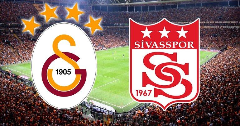 Galatasaray Sivasspor maçı ne zaman, saat kaçta ve hangi kanalda? - Süper Lig 8. hafta -