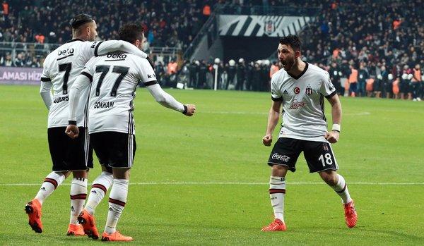 Beşiktaş, Avrupa devlerini solladı!