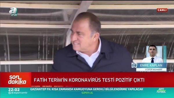 Fatih Terim'de koronavirüs çıktı! | Video