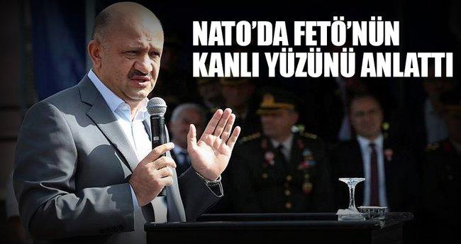 NATO'da FETÖ'nün kanlı yüzünü anlattı