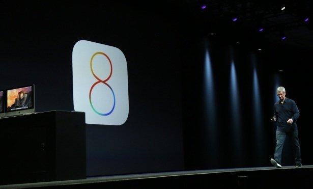 Apple iOS 8'i dünyaya tanıttı