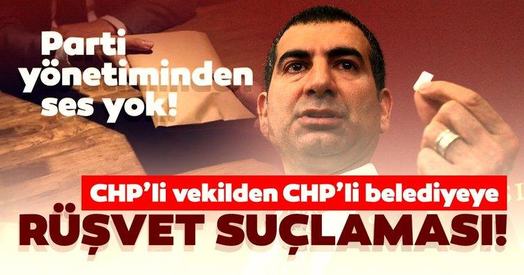 CHP'li vekilden CHP'li belediyeye 2 milyonluk rüşvet suçlaması