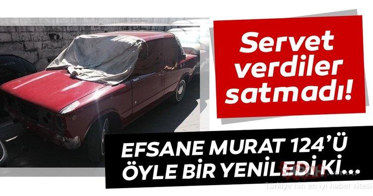 Efsane Murat 124'ü yepyeni hale getirdi! Servet verdiler satmadı!