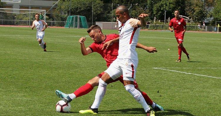 Galatasaray, FC Wil'i tek golle geçti