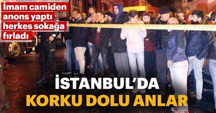 Son dakika: İstanbul'da korku dolu anlar! Eyüpsultan'da yangın