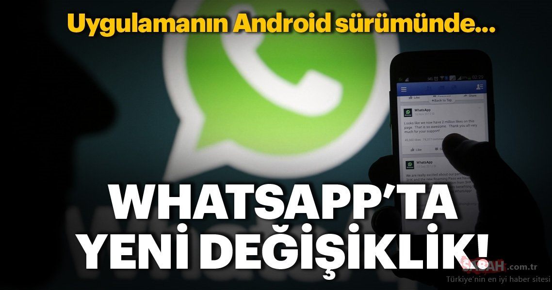 WhatsApp Android version updated! What has changed with the