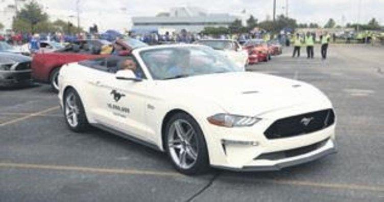 10 milyonuncu Ford Mustang üretildi