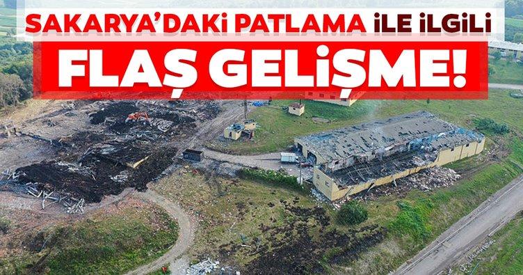 Son dakika: Sakarya'daki havai fişek fabrikasındaki patlama ile ilgili 3 kişi hakkında gözaltı kararı!
