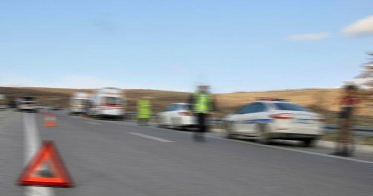 Akçadağ'da feci kaza: 1 ölü, 4 yaralı