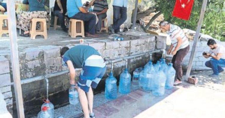 Şifalı su için Yunusemre'ye geliyorlar