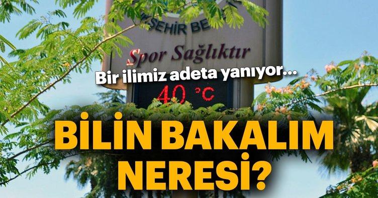 Adana'da termometreler 40 dereceyi gördü