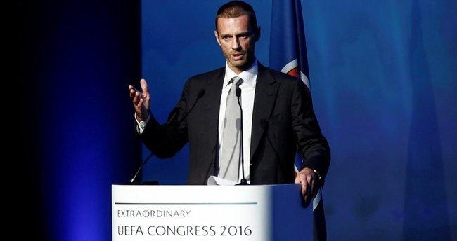 UEFA'nın yeni başkanı Aleksander Ceferin
