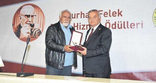 Çakın'a Burhan Felek Basın Hizmet Ödülü