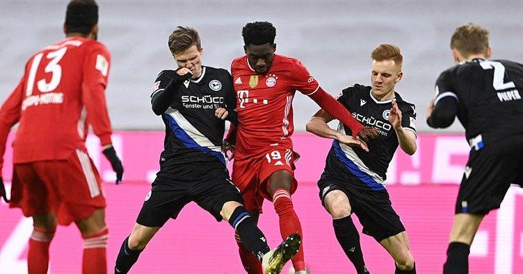 Bayern Münih'e evinde Bielefeld çelmesi!