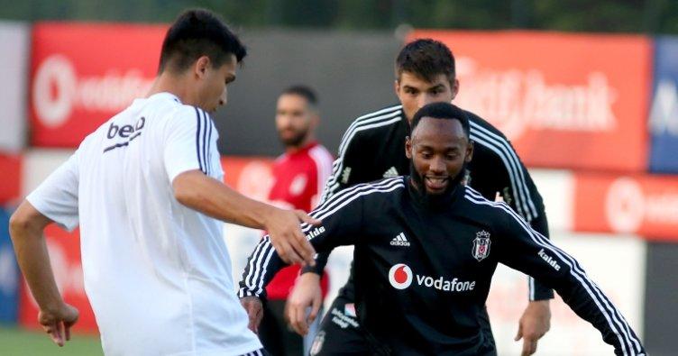 Georges-Kevin N'Koudou, Beşiktaş ile ilk antrenmanına çıktı