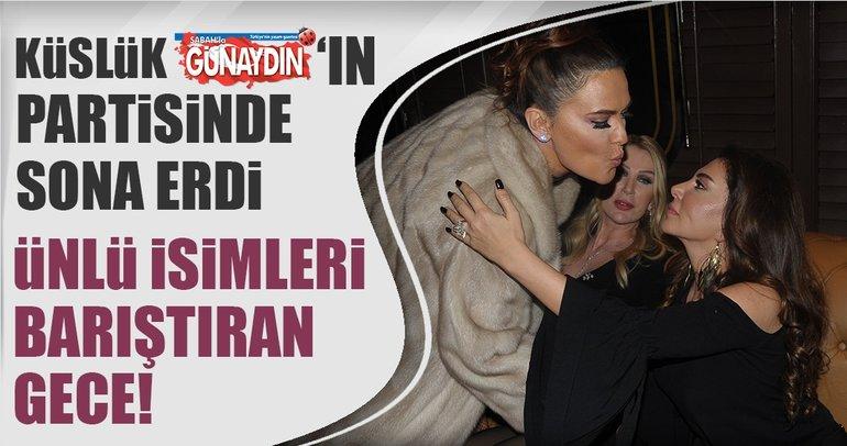 Demet Akalın ve Ebru Yaşar'ı barıştıran gece