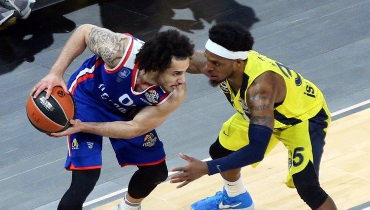 Fenerbahçe Beko - Anadolu Efes maçından kareler