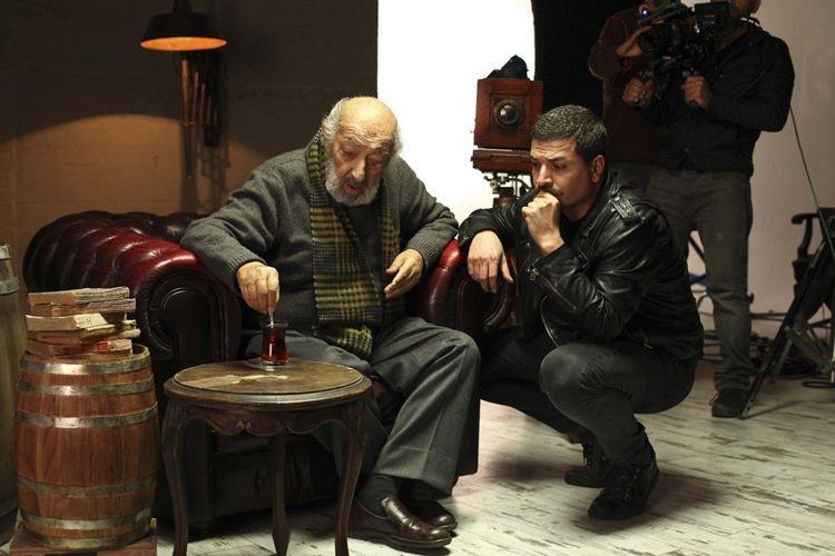 Mehmet turgut Ara Güler'i fotoğrafladı