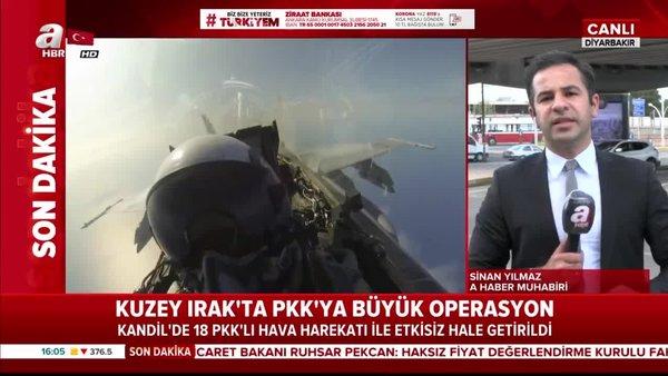 Son dakika: Kuzey Irak'ta PKK'ya büyük operasyon! Kandil'de 18 PKK'lı hava harekatıyla etkisiz hale getirildi! | Video