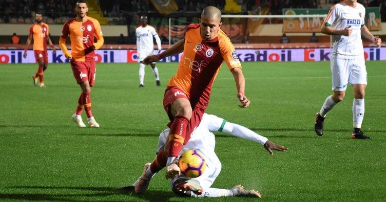 Galatasaray 2 puanı Alanya'da bıraktı