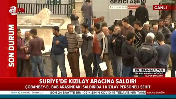 Türk Kızılayı Genel Müdürü'nden kalleş saldırı hakkında açıklama   Video