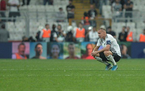 Beşiktaş Wolverhampton'a yenildi, taraftar çıldırdı!
