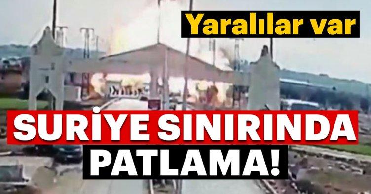 Son Dakika: Çobanbey sınır kapısında patlama! Yaralılar var