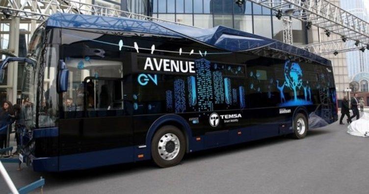 Türkiye'nin ilk elektrikli otobüsü Hacettepe'de hizmet verecek