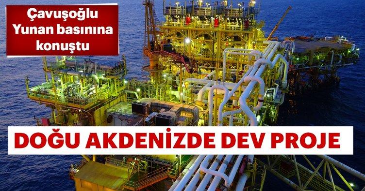 Dışişleri Bakanı Çavuşoğlu Yunan basınına konuştu