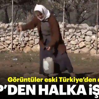 CHP'li belediyeden vatandaşa eşek sırtında su taşıma işkencesi