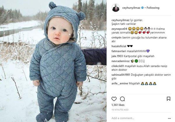 Ünlülerin Instagram paylaşımları (28.12.2017)