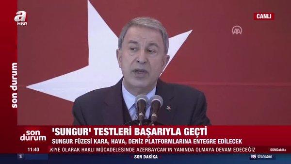 Son dakika: Milli Savunma BakanıHulusi Akar'dan flaş açıklamalar