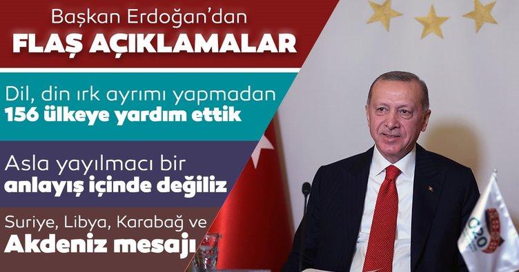 Son dakika: Başkan Erdoğan 12. Halifax Uluslararası Güvenlik Forumu'na video mesaj gönderdi