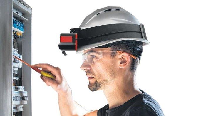 Üretime artırılmış gerçeklik gözlüğü