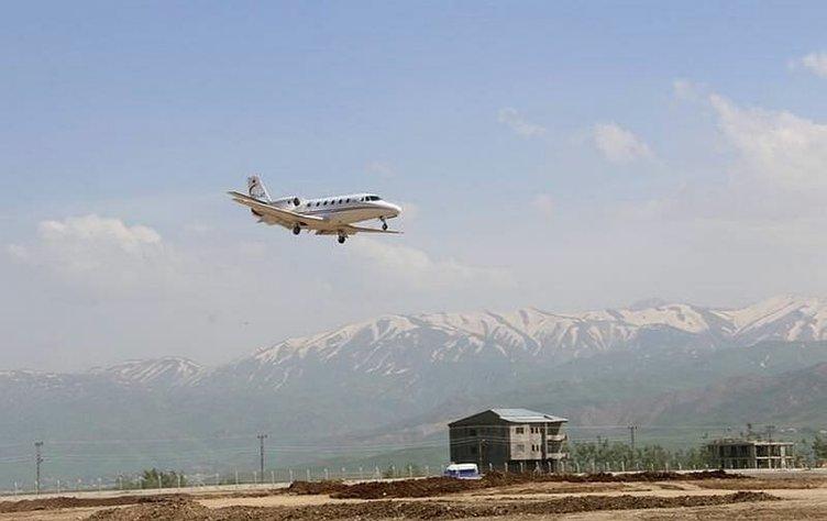 Yüksekova Havalimanı açılıyor