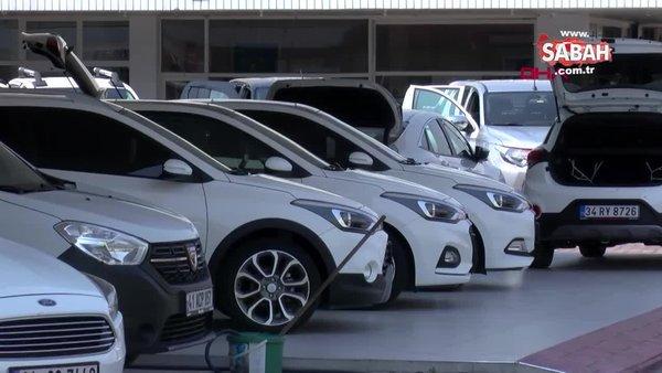 Konut kredisi ve taşıt kredisi faiz oranları indirimi sonrası ikinci el otomobil satışı yükseldi   Video