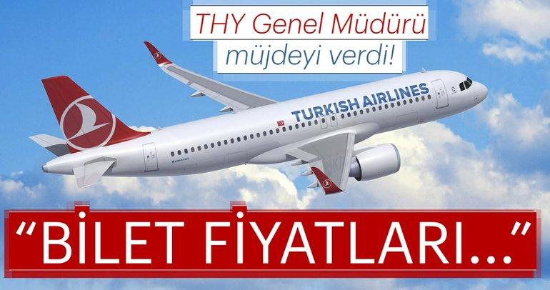 Son dakika: THY Genel Müdür Bilal Ekşi'den flaş uçak biletleri açıklaması!
