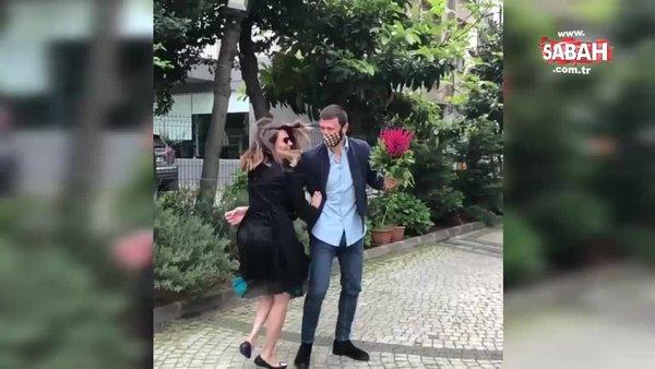 Didem Balçın'ın gelin çiçeğini Rojda Demirer'in voleybolcu erkek arkadaşı kaptı! | Video