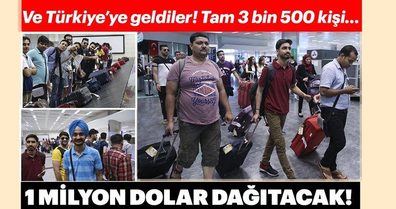 Hindistanlı iş adamının ödüllendirdiği çalışanlar İstanbul'a geldi
