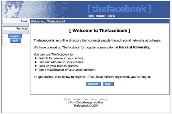 6 yılda Facebook